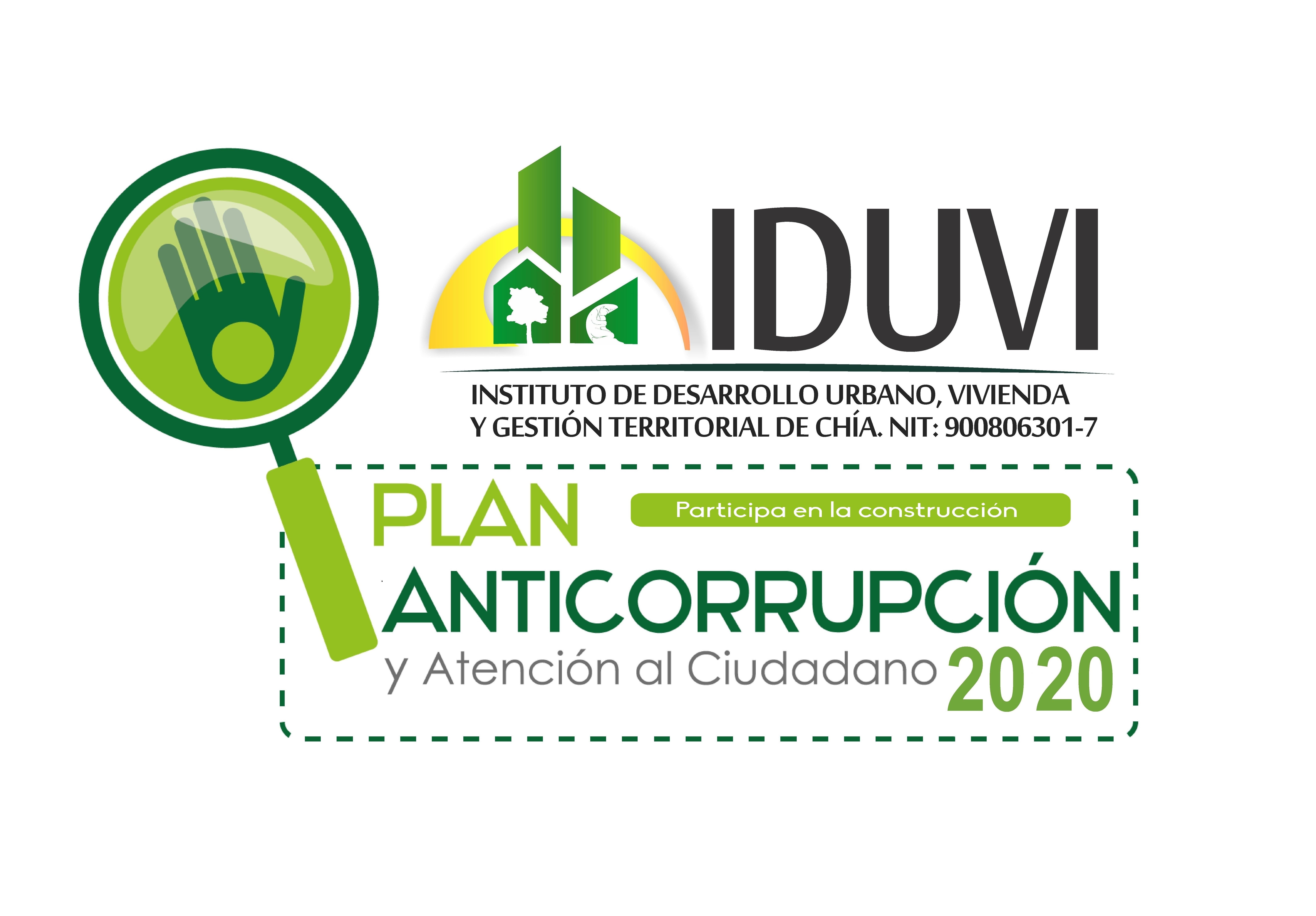 Participe en la construcción del Plan Anticorrupción y Atención al Ciudadano 2020