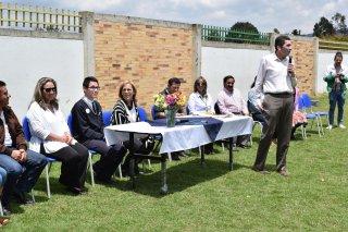 Entrega de predio para la ampliación de la Institución Educativa Santa Maria del Rio
